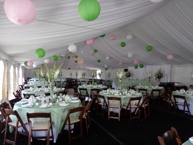 Event Rentals in the Central Valley