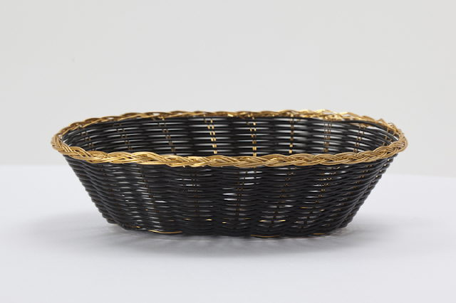 Where to find Basket, Black   Gold Wicker in Fresno
