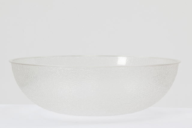 16 Inch Clear Plastic Serving Bowl Rentals Clovis Ca