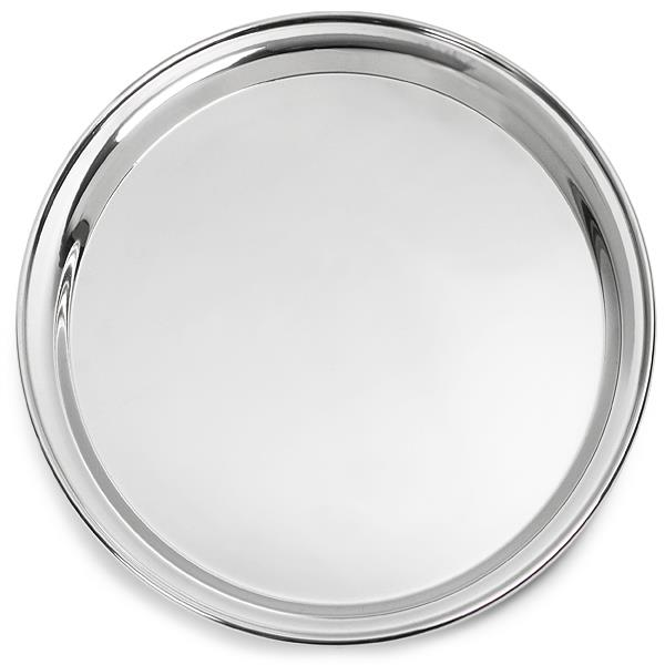 Where to find 25  Round Stainless Steel Tray in Clovis