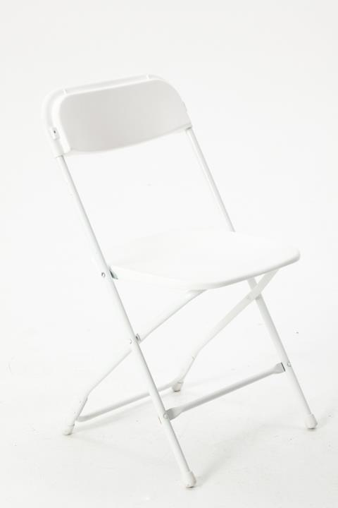 Where to find White Folding Chair in Clovis