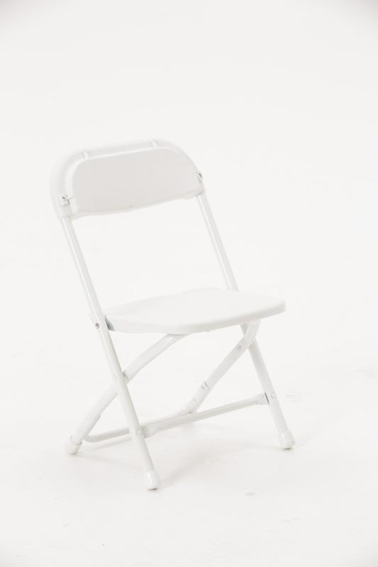 Where to rent Children s White Folding Chair in Fresno California, Clovis CA, Central Valley Area