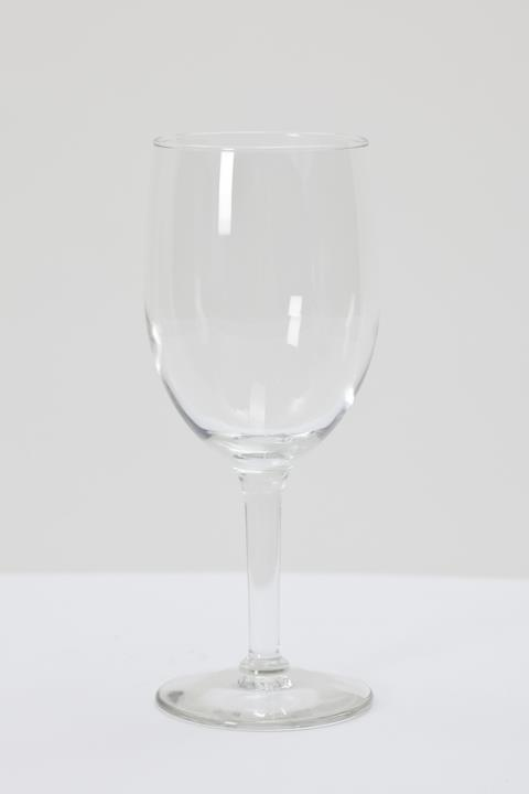 Where to find 10 oz Faceted Wine Glass in Clovis
