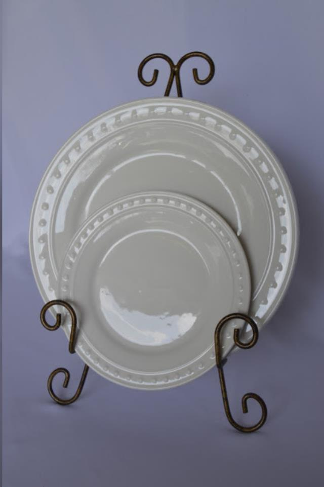Where to rent French Perle 10.5  Dinner Plate in Fresno California, Clovis CA, Central Valley Area