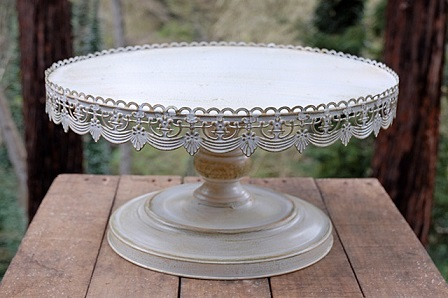 16  Round Antique Cake Stand & 16 INCH ROUND ANTIQUE CAKE STAND Rentals Clovis CA Where to Rent 16 ...