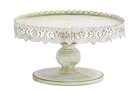 Where to find 10  Round Antique Cake Stand in Fresno