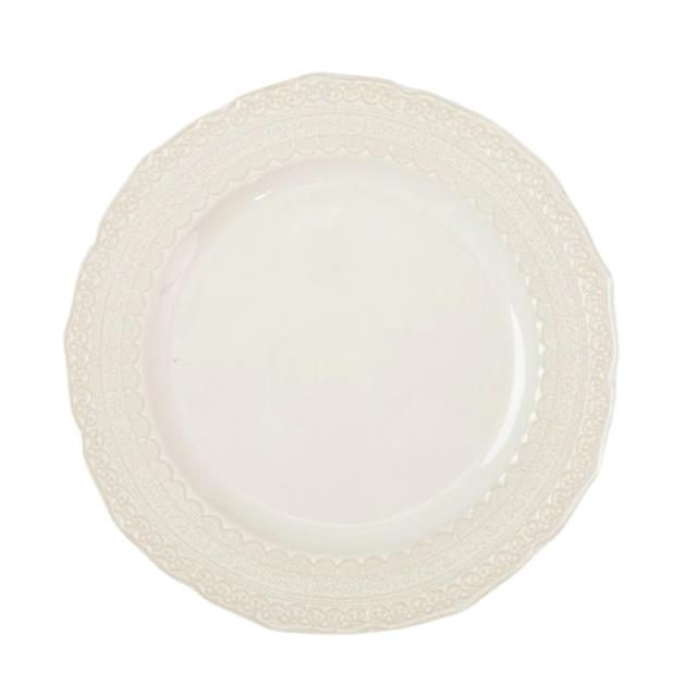 Where to find Laced Sienna 10.5  Dinner Plate in Fresno