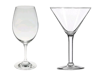 Glassware Rentals in Fresno County